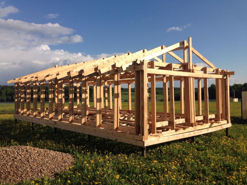 Как построить дом на сваях своими руками 8